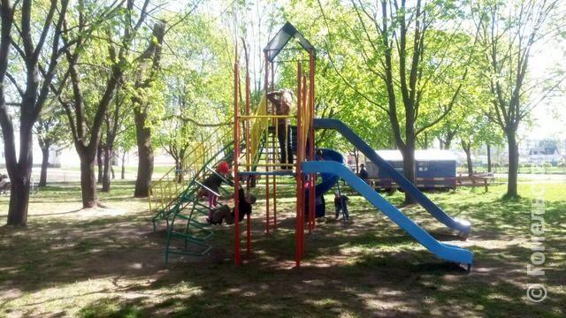 В Железнодорожном районе Гомеля появился еще один спортивный городок