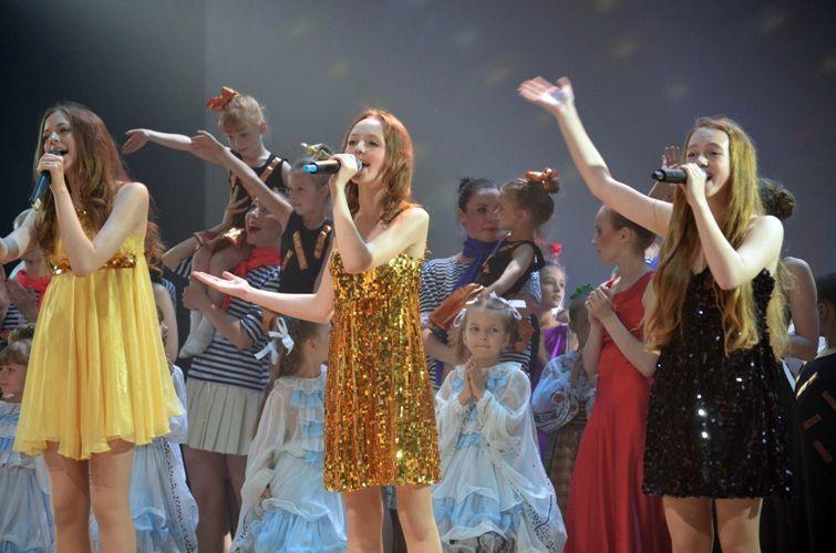 Концерт детских коллективов ДК Железнодорожников