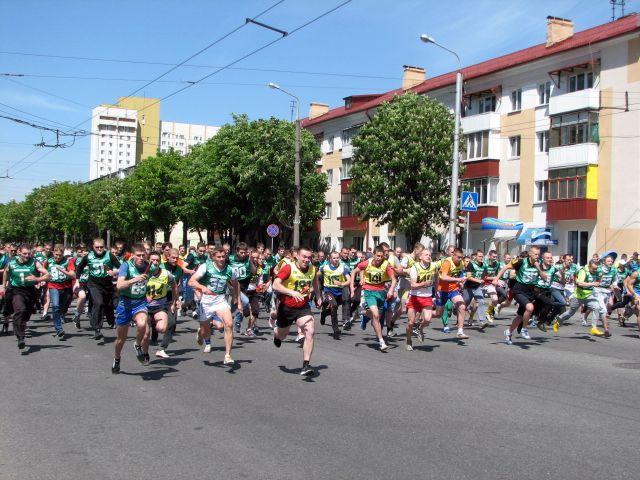 Легкоатлетическая эстафета памяти Николая Дворникова