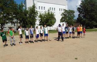 Соревнования по футболу «Кожаный мяч»