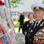 Торжественный прием ветеранов в картинной галерее Г. Х. Ващенко