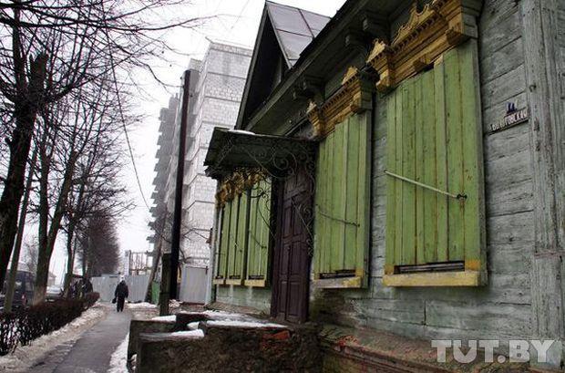 В Гомеле завершили демонтаж уникального дома по улице Волотовской