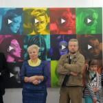 В гомельской художественной галерее Г. Х. Ващенко открылась выставка «Алфавит»