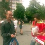 """Активисты РК ОО """"БРСМ"""" провели акцию"""