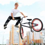 BMX-райдеры показали гомельчанам, как нужно кататься на велосипеде