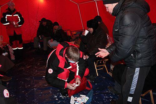 Добровольцы Красного Креста готовы жертвовать личным временем ради других