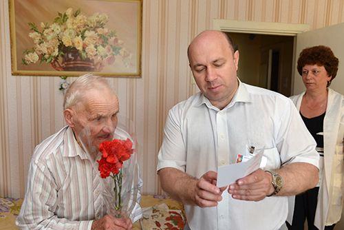 К 70-летию освобождения Беларуси памятные медали получат 583 жителя Советского района