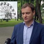 К 70-летию освобождения Беларуси запустят колесо обозрения