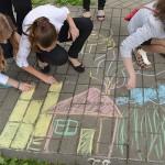 Как встречали лето в Советском районе Гомеля