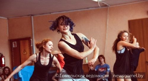 Мастер-классы по современной хореографии прошли в Гомеле