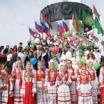 Международный детский фестиваль открылся у Монумента Дружбы