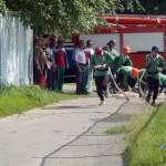 В Гомеле прошли соревнования добровольных пожарных дружин