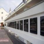 В Студенческом сквере у костела в Гомеле создали Аллею героев