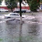 19 июля ливень затопил Гомель