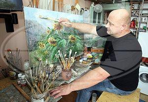 Выставка гомельчанина Александра Гайлевича открывается в галерее Ващенко