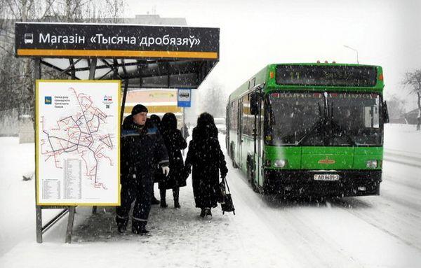 Схемы движения общественного транспорта появились на новых остановочных навесах