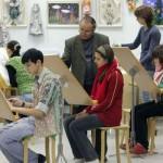 Изостудия областного Дворца творчества детей и молодежи отметила свое 50-летие