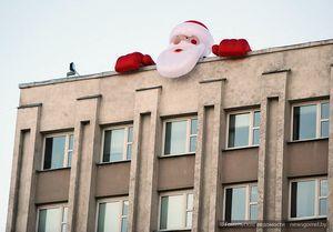 В Гомеле нашествие Дедов Морозов