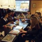 Победители предметных олимпиад отметили свой успех в ресторане