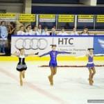 В Гомеле прошел новогодний концерт на коньках