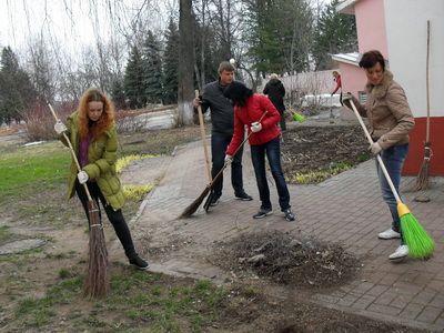 Сделаем наш район чище и уютнее!