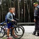 Акцию «Юный велосипедист» проводит в эти дни Госавтоинспекция