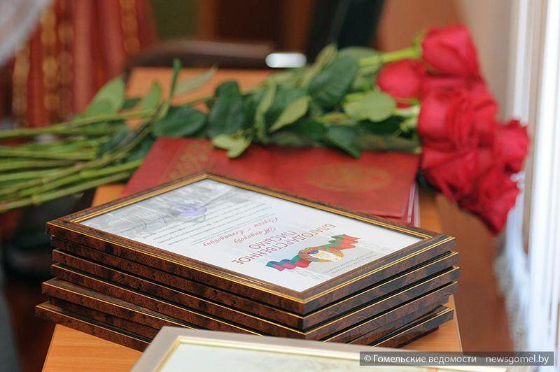Чествование участников реконструкции Аллеи Героев