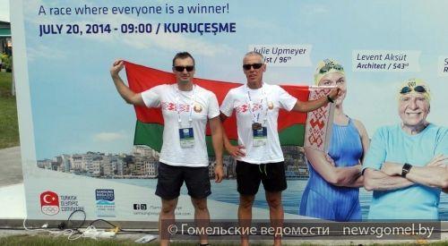 Гомельчане участвовали в плавательном марафоне