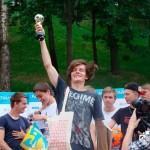 Гомельчанин победил в турнире по футбольному фристайлу