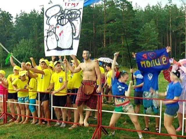 Гомельских студентов собрал фестиваль «Студенческая Жара»
