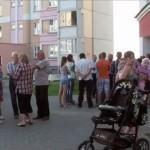 «Не нужен нам этот магазин!»: жильцы дома №42 на улице Чечерской бьют тревогу и просят помощи