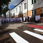 После реконструкции торжественно открыт второй корпус Гомельской областной туберкулезной клинической больницы