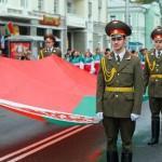 Праздничное шествие ко Дню Независимости в Гомеле