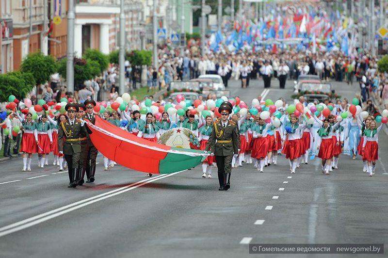 Праздничное шествие в День Независимости