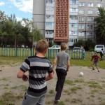 Работа спортивных площадок по месту жительства
