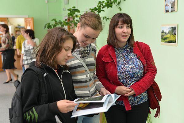 В Гомеле открылась выставка Евы Дудорги