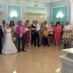 В Новобелицком ЗАГСе свадебный марш прозвучал сразу для трёх пар