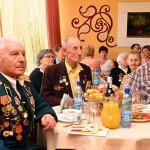 В Советском районе прошел приём в честь ветеранов
