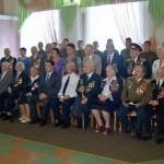 В Железнодорожном районе чествовали ветеранов Великой войны