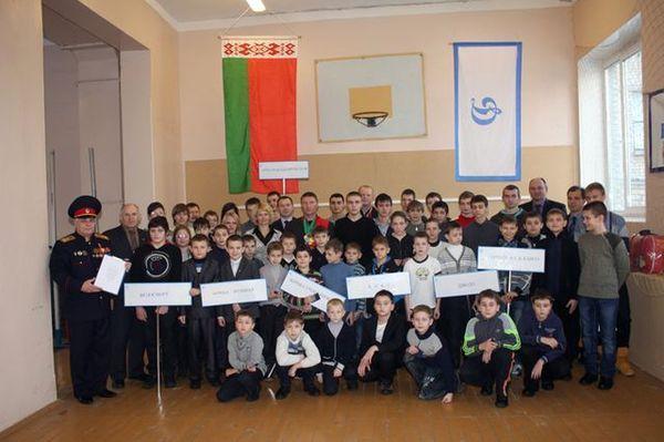 В Гомеле в ряды динамовцев приняты учащиеся СДЮШОР №1