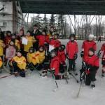 Районный этап городских соревнований среди детей и подростков по хоккею «Горячий лед»
