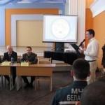 Сотрудники МЧС провели ток-шоу для будущих педагогов