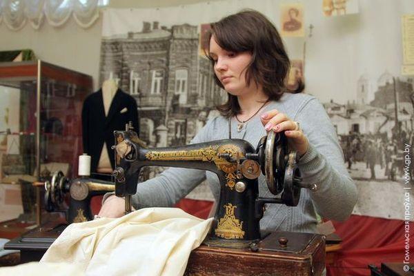 Выставка швейных машин