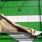 Последствия сильного ветра на выходных в Гомеле