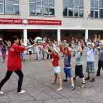 Cоветский райком БРСМ устроил спортивный праздник для школьников