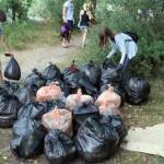 Гомельские активисты провели акцию «Чистые берега»