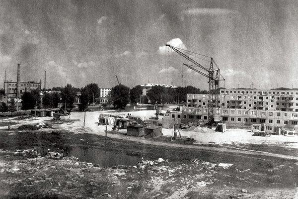Как строился Советский район: фото из семейного архива его жителей