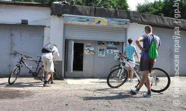 Репортаж «ГП» из мастерской по ремонту велосипедов