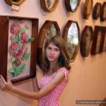 В Гомеле открылась цветочная экспозиция из ниток