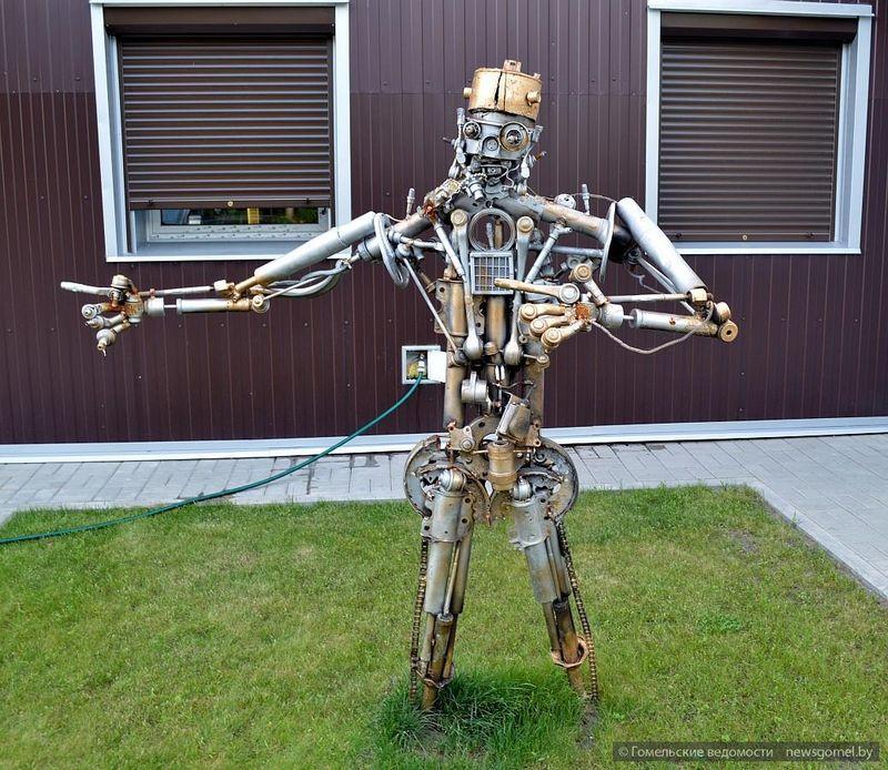 В Гомеле появился новый робот